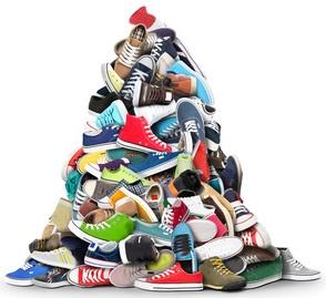 Moderne Schuhe