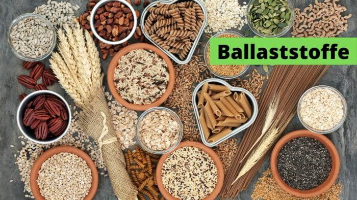 Ballaststoffe für die gesunde Verdauung