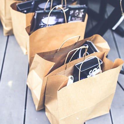 Bestellungen im Shop