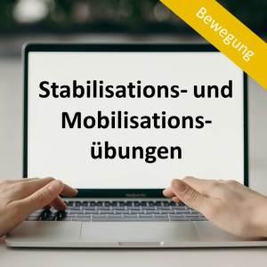Stabilisations- und Mobilisationsübungen