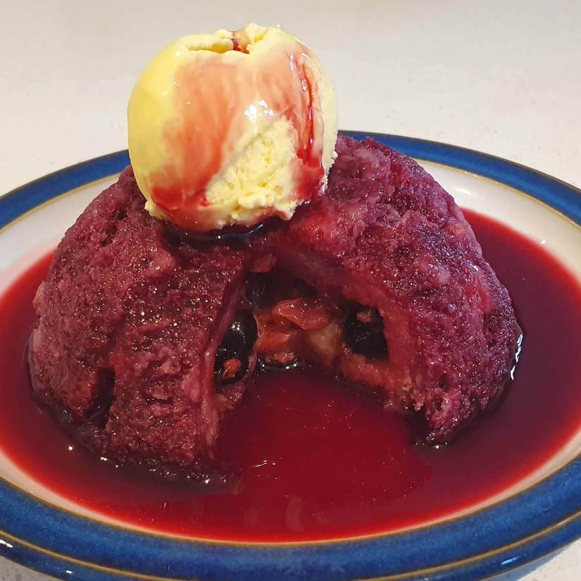 summer fruit pudding