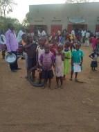 crowds of kids always gather