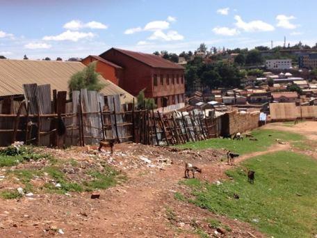 slums in Kampala