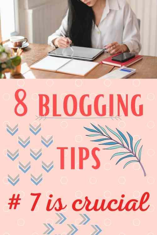8 blogging tips