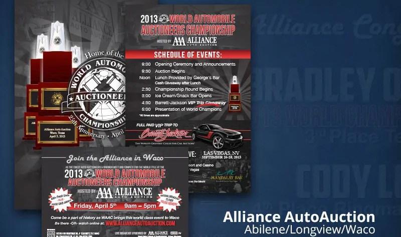 Alliance Auto Auction print