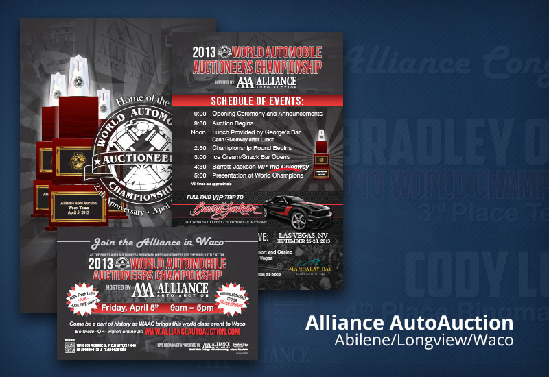 Alliance Auto Auction print