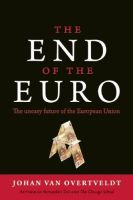 The End of the Euro book summary