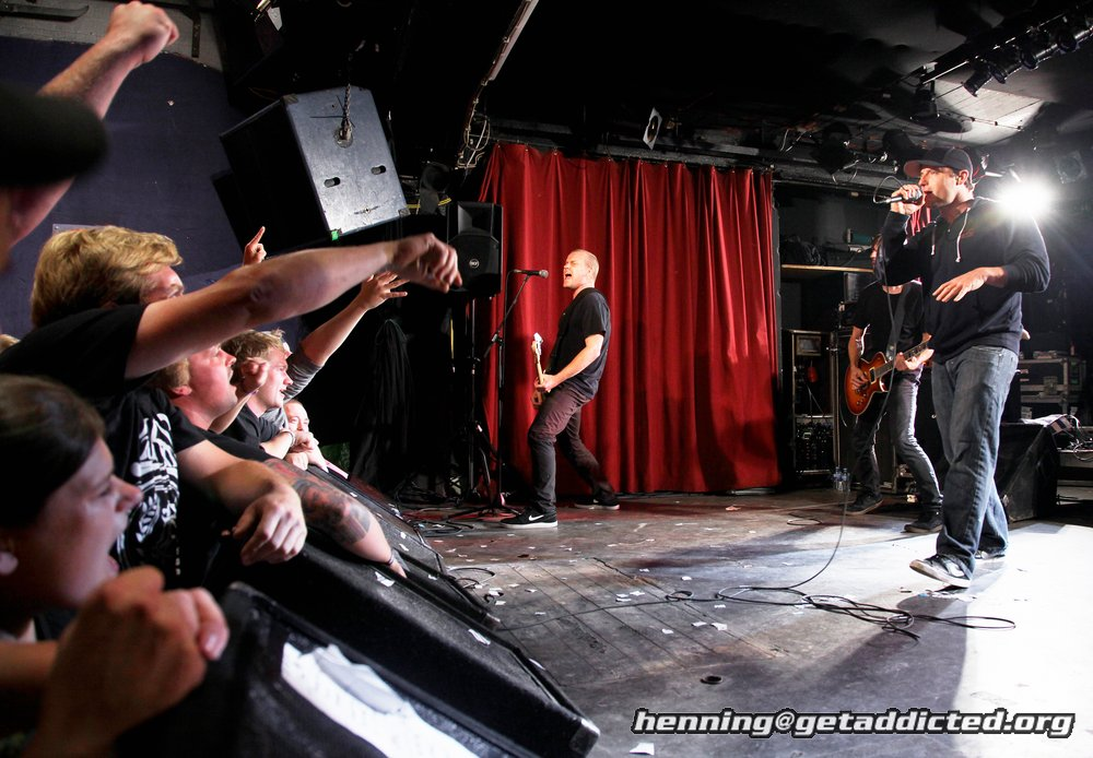 Ignite in der Sputnikhalle Münster 2014 Foto Henning Haake