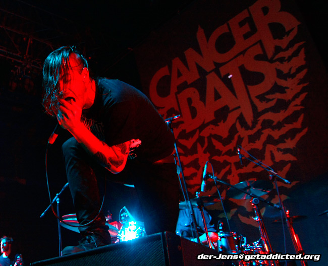 Cancer Bats in Bielefeld 2009, Foto: Jens Becker