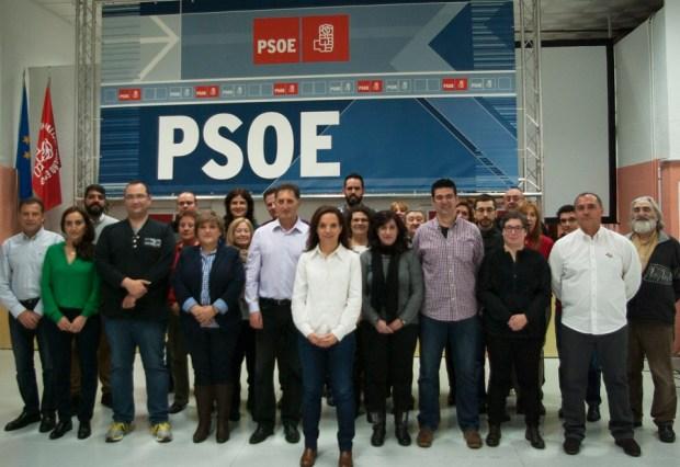 Candidatura PSOE Getafe Elecciones Municipales 2015