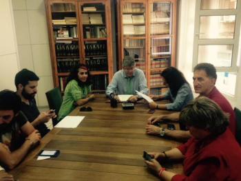 Acuerdo ante notario entre Ahora Getafe y PSOE
