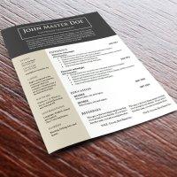 Free cv resume template #688 - 694