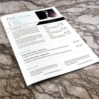 Yep, another free cv template!! (#847 - 852)