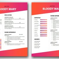 Bloody Mary 2-Pages Version