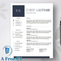 The Chic CV Resume Template