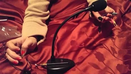 Stony-Edge Simple Webcaster Gooseneck Microphone, For iPhone, Smartphone, Tablet, Laptop & Desktops