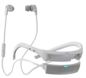Skullcandy Smokin Buds In-Ear Bluetooth Wireless Earbuds, White