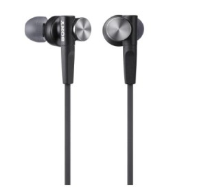 Sony MDRXB50AP Extra Bass Earbud/Earphone (Black) Image