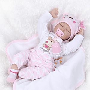 SanyDoll Reborn Baby Doll Soft Silicone