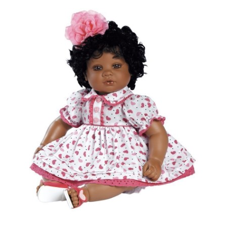 """Adora Toddler Adora My Heart 20"""" Girl Weighted Doll Gift Set for Children 6+ Huggable Vinyl Cuddly Snuggle Soft Body Toy"""