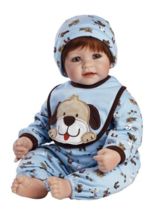 "20 inches Adora Toddler WOOF! 20"" Boy Weighted Doll Gift Set for Children 6+ Huggable Vinyl Cuddly Snuggle Soft BodyToy"
