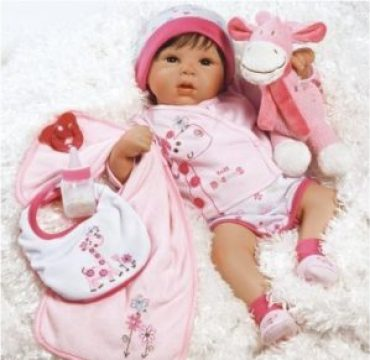 19 inches Tall Dreams Lifelike Realistic Baby Girl Doll