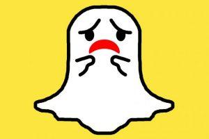 Sad Snapchat Ghost Image