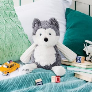 Scentsy buddy Homer the Husky is for sale now at getascent.com!