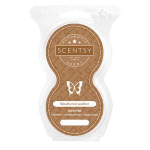 Weathered Leather Scentsy Pod