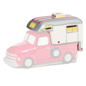Scentsy retro truck collection wanderlust camper lid for sale now at getascent.com!