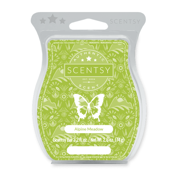 Scentsy Alpine Meadow scent circle for sale now at getascent.com!