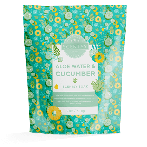 Aloe Water & Cucumber Scentsy Soak