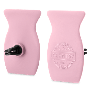 Pink Cotton Car Bar Clip