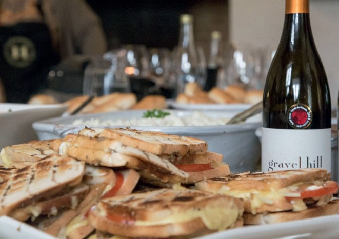 Braaibroodjies and award-winning Gravel Hill wine at Hartenberg Wine Estate. - Photo by Vuyi Qubeka