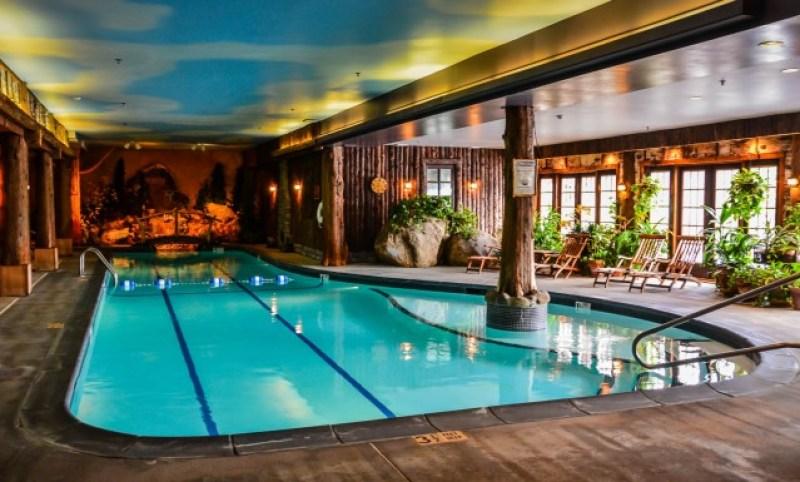 Mirror Lake Inn pool | Lake Placid, NY