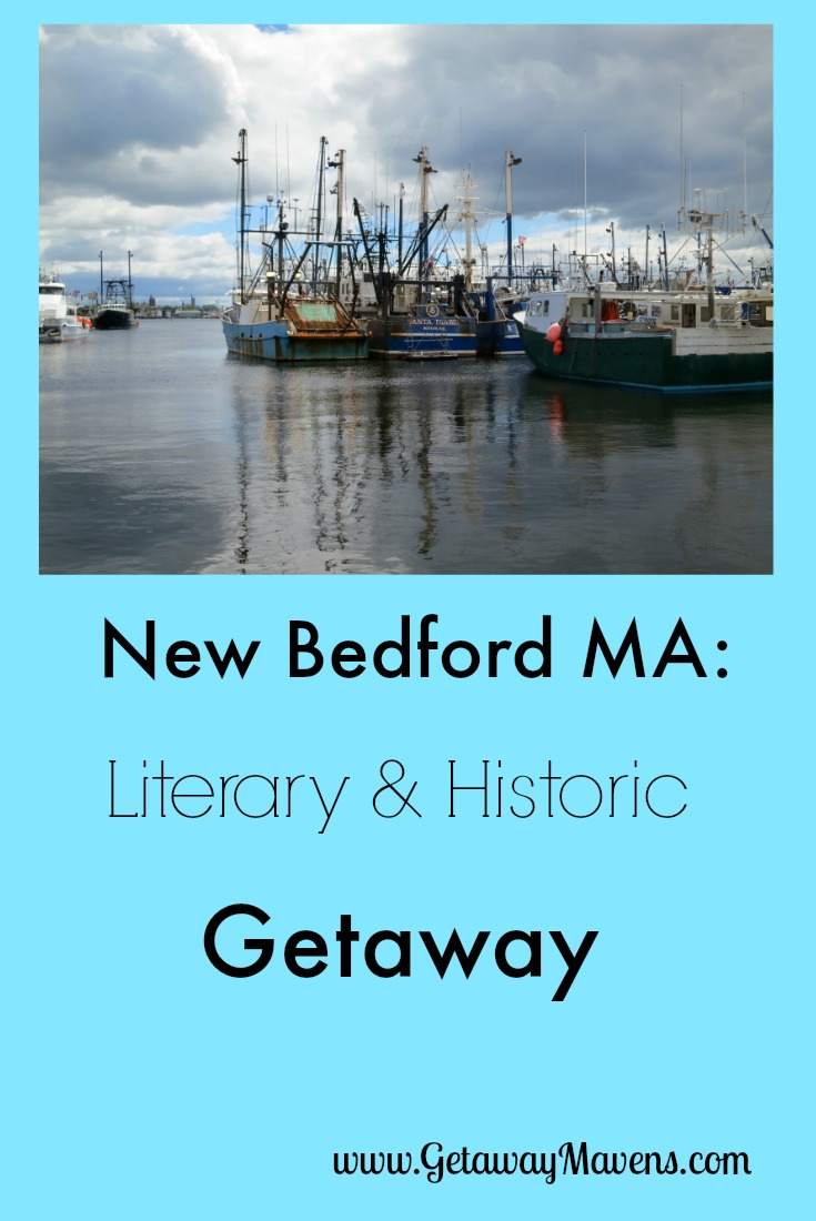 New Bedford, Massachusetts, once the inspiration for Herman Melville's Moby Dick, now tells the story of America's whaling history. With new hotels, trendy wine and beer bars, and the most profitable commercial fishing fleet in America, this Getaway is perfect for history buffs and Melville fans who wish to explore a working waterfront, and be well-fed in the process. #VisitMA @GetawayMavens