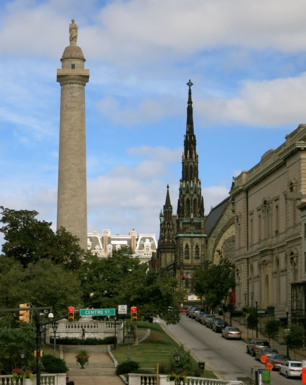 Washington Monument, Mount Vernon Neighborhood, Baltimore MD