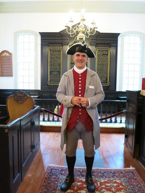 Ray Baird as Patrick Henry at St. Johns Church, Richmond VA