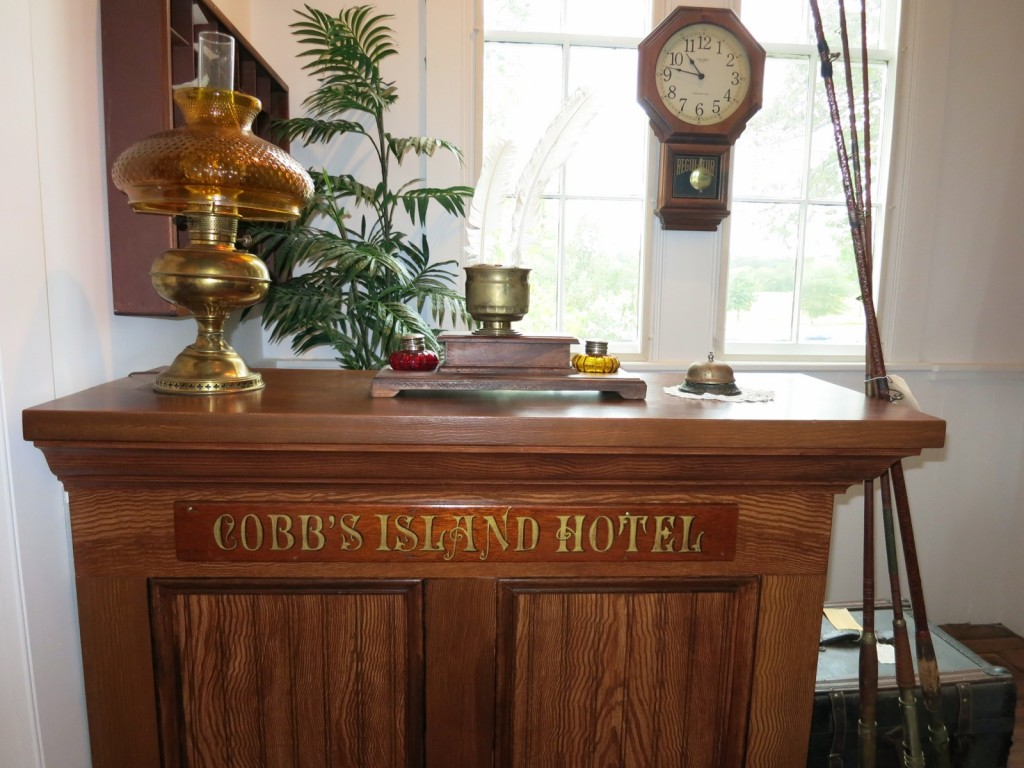 Cobb's Island Hotel relic at Barrier Island Center, Eastern Shore, VA