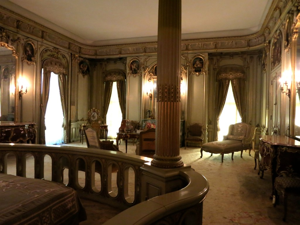 Louise Vanderbilt's boudoir, Hyde Park, NY