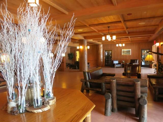 Bear Mountain Inn lobby, Bear Mountain State Park NY