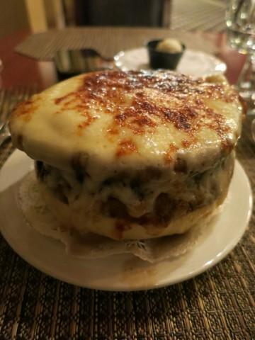 French Onion Soup - MacArthur's Restaurant at Thayer Hotel, West Point NY