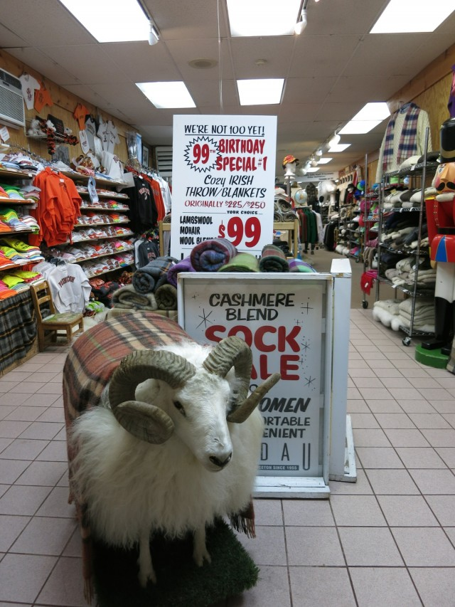 Landau woolens specialty store, Princeton NJ