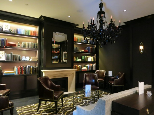 Library Bar, Rittenhouse Hotel, Philly PA