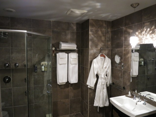 Peacock Inn Bathroom, Princeton NJ