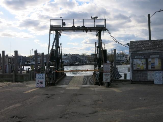 """Chappy"" Ferry, Edgartown to Chappaquiddick, Marthas Vineyard MA"