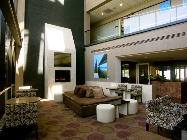 Lobby/Den, Oyster Point Hotel, Red Bank NJ
