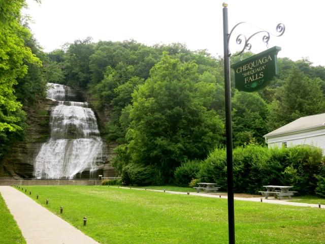 Chequaga Falls, NY