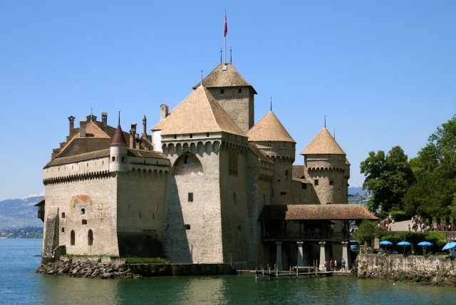 Chillon Castle Montreux