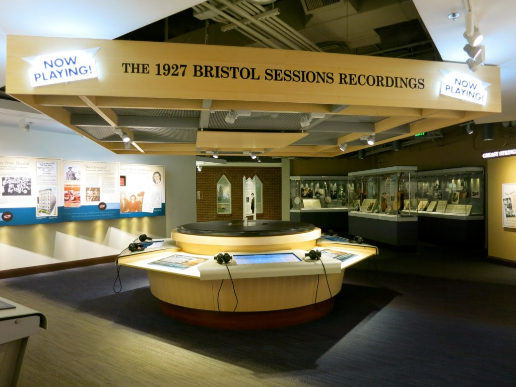 Bristol Sessions at Birthplace of Country Music Museum, Bristol VA